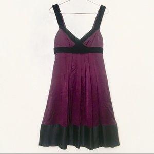 Banana Republic Silk & Velvet Dress
